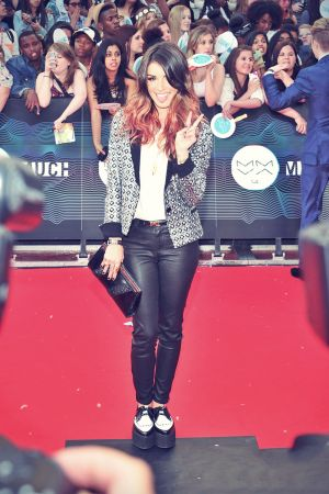 Shenae Grimes attends the 2014 MuchMusic Video Awards