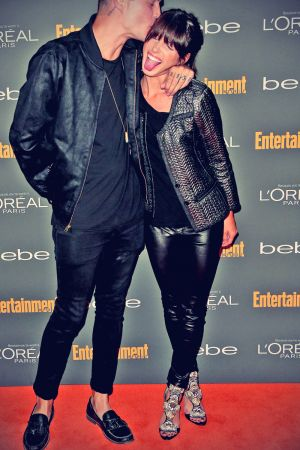 Shenae Grimes attends the Entertainment Weekly's Pre-Emmy Party
