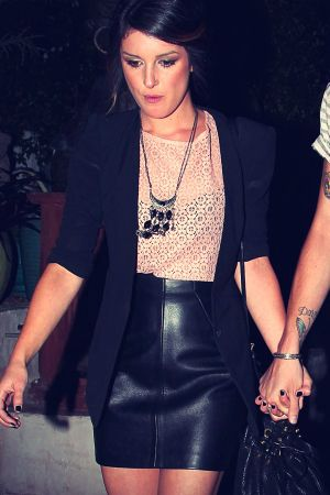 Shenae Grimes leaves a Party