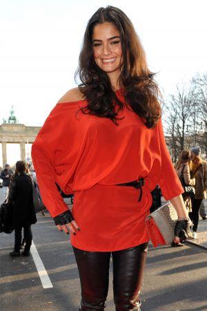 Shermine Sharivar at Mercedes Benz Fashion Week