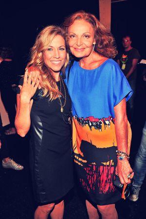 Sheryl Crow attends Diane Von Furstenberg Fashion Show