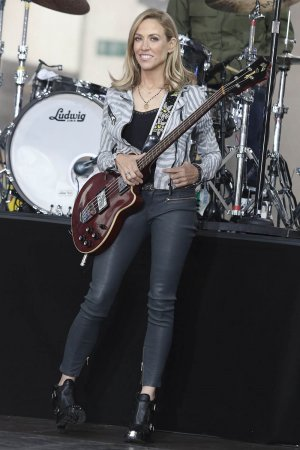 Sheryl Crow NBC performs at Today Show