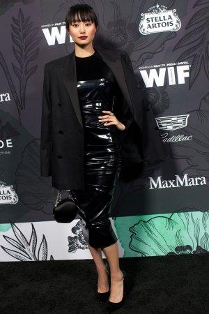 Shioli Kutsuna at Women in Film Oscar Nominee Party