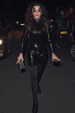 Shirley Ballas attends Jonathan Ross Halloween Party