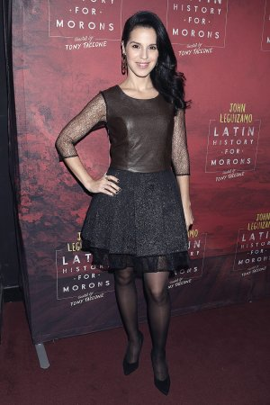 Shirley Rumierk attends Opening night of Latin History For Morons