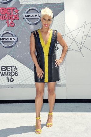 Sibley Scoles attends the 2016 BET Awards