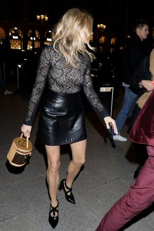 Sienna Miller attends Louis Vuitton show