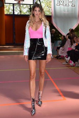 Simone Sevignani attends Marina Hoermanseder's Fashion Show