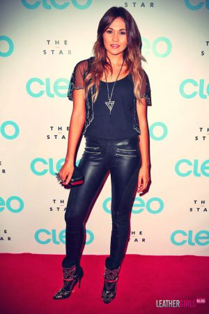 Sinead Burgess arrives at the CLEO magazine relaunch party