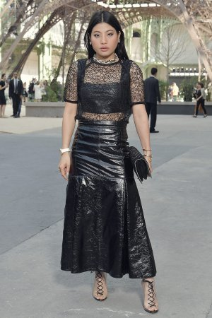 Sirivannavari Nariratana attends the Chanel Show Fall/Winter 2017
