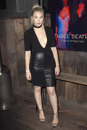 Skye Peters attends the Premiere of Stonefox Pictures Three Deaths