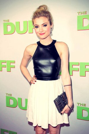 Skyler Samuels attends The Duff Premiere