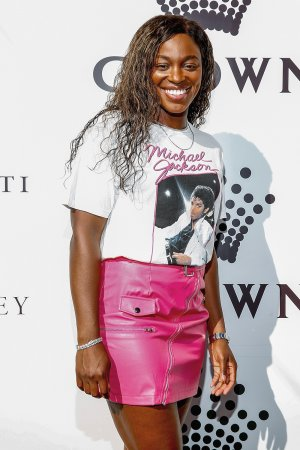 Sloane Stephens at Crown IMG Tennis Party