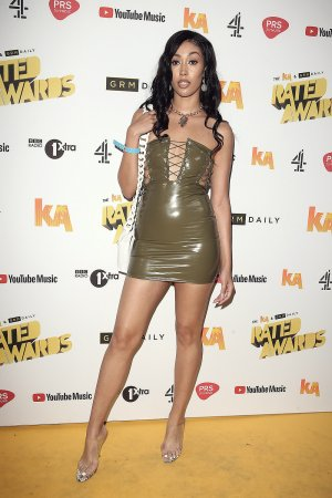 Snoochie Shy attends 2018 KA & GRM Daily Rated Awards