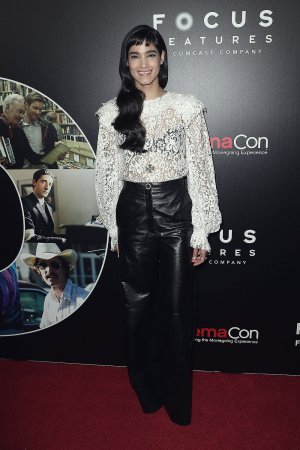 Sofia Boutella attends CinemaCon 2017 Focus Features