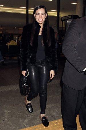 Sofia Carson seen at LAX