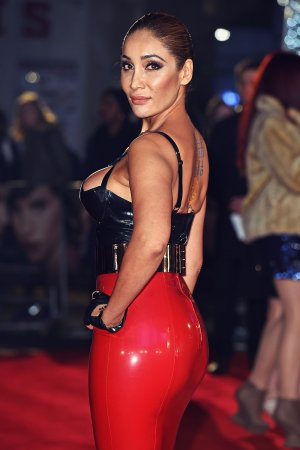 Sofia Hayat at The Danish Girl UK Premiere