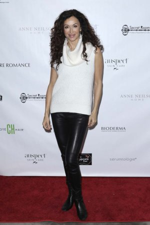 Sofia Milos at 2017 Golden Globes Gifting Suite