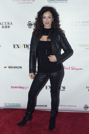 Sofia Milos at the 2018 Secret Room Events Lounge in honor of Nominees for Golden Globe Awards