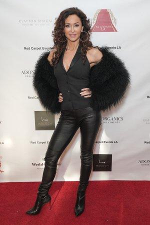 Sofia Milos at the 2019 Grammys Style Lounge