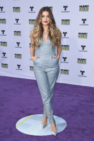 Sofia Reyes attends Latin American Music Awards