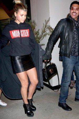 Sofia Richie is seen in LA