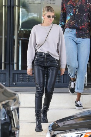 Sofia Richie leaves Barneys New York