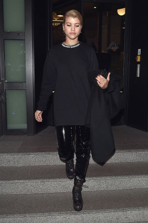 Sofia Richie leaving her hotel