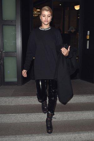 Sofia Richie leaving her hotel