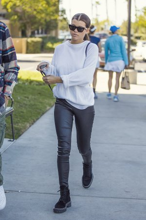 Sofia Richie out in Agora Hills