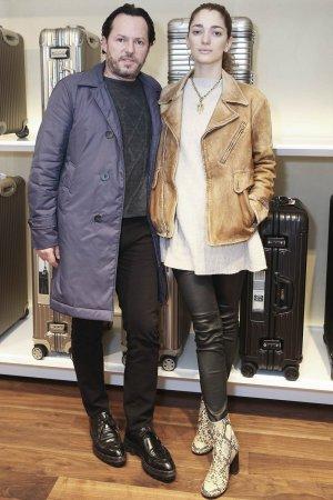 Sofia Sanchez de Betak attends opening of the Boutique Rimowa