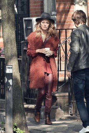 Sofia Sanchez out in West Village