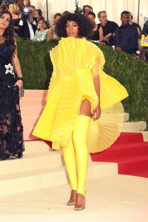 Solange Knowles attends Costume Institute Met Gala