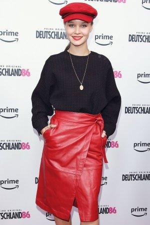 Sonja Gerhardt attends Premiere Deutschland 86