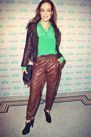 Sonja Kirchberger attends MBFW Berlin