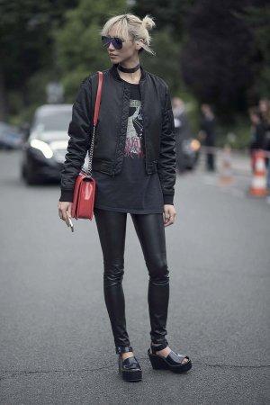 Soo Joo Park at Paris Fashion Week Haute Couture F/W