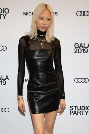 Soo Joo Park attends The Whitney Museum Annual Studio Party