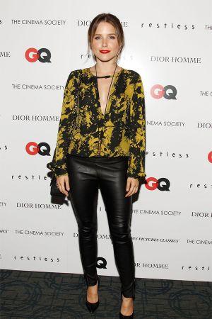 """Sophia Bush at Cinema Society Screening of """"Restless"""" in NYC"""