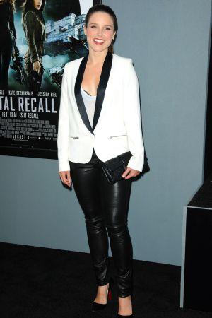 Sophia Bush at premiere of Total Recall