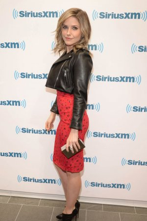 Sophia Bush at Sirius XM studio in New York