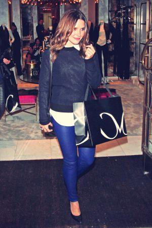 Sophia Bush Leaves The Monika Chiang Store