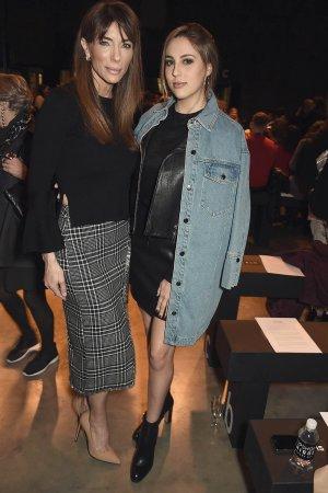 Sophia Stallone attend Topshop's London Fashion Week show