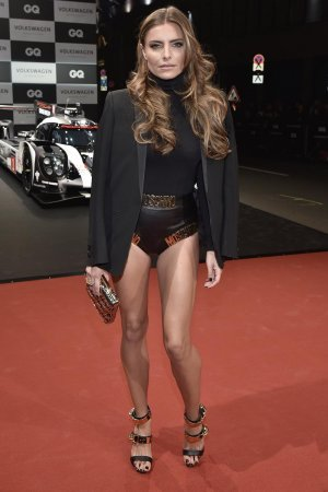 Sophia Thomalla arrives at the GQ Men of the year Award 2016