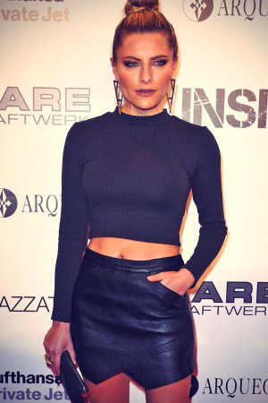 Sophia Thomalla attends Exhibition Insights by Mayk Azzato presented by KARE Kraftwerk