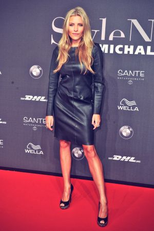 Sophia Thomalla attends Mercedes-Benz Fashion Week
