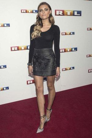 Sophia Thomalla attends photocall of RTL Program