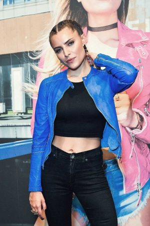 Sophia Thomalla during the Freaky Nation 'COME FLY WITH ME' campaign
