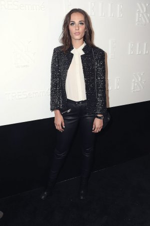 Sophie Auster attends Elle IMG party
