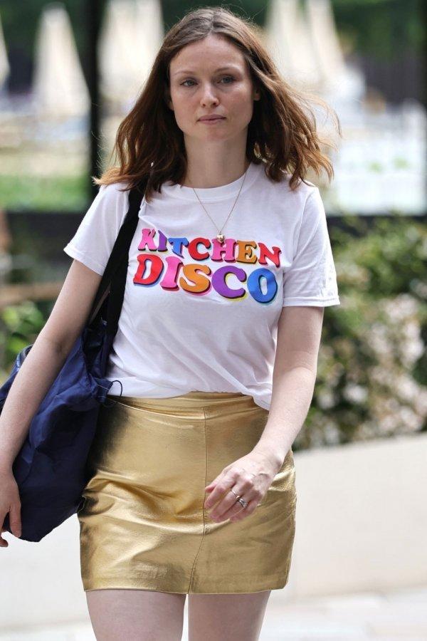 Sophie Ellis Bexter seen at Sunday Brunch TV show