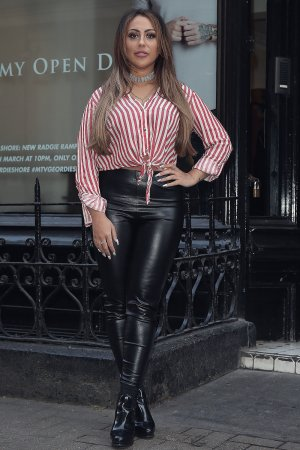 Sophie Kasei attends the Geordie Shore Radge Academy open day